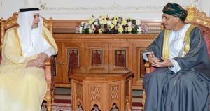نائب رئيس الوزراء لشؤون مجلس الوزراء يستقبل وزير الخارجية السعودي ووزير الثقافة السوداني
