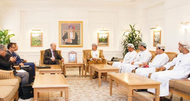 وزير القوى العاملة يستقبل الوزير المكلف بالمغاربة المقيمين بالخارج