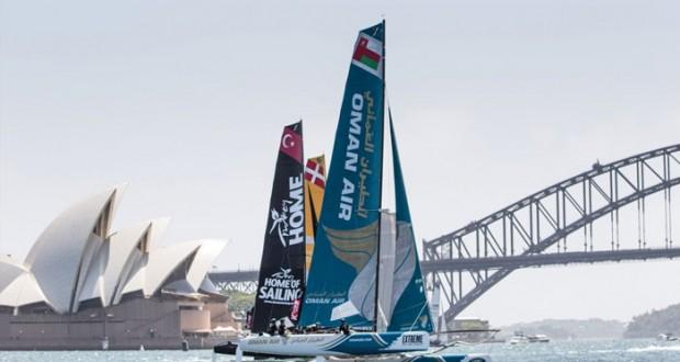 قوارب السلطنة على موعد مع التتويج في ختام لسلسلة الإكستريم 40 بأستراليا