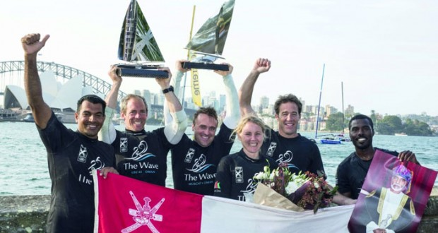الموج مسقط يتوج بطلا لسباق الأكستريم للإبحار الشراعي بأستراليا