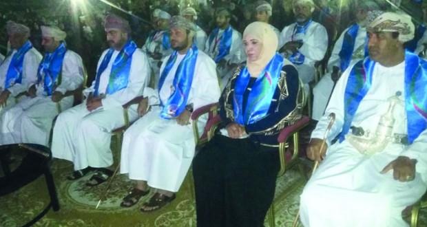 تيمور بن اسعد يرعى احتفال ولاية السيب بالعيد الوطني الخامس والأربعين المجيد