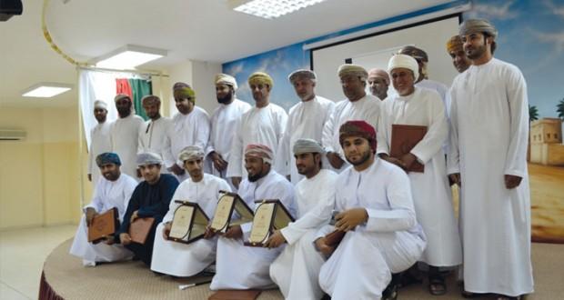 وزارة الشؤون الرياضية تكرم المبادرات الفائزة لأندية مسقط