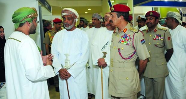 قوات السلطان المسلحة تنظم معرض ريادة الأعمال