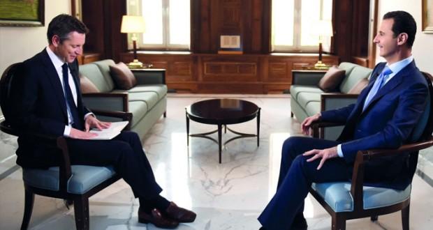 الرئيس السوري: التقارير الدولية مسيسة وربط الأزمة بوجودي تضليل للرأي العام