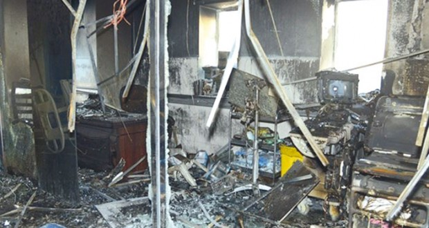 السعودية: حريق يحصد 25 في مستشفى جازان