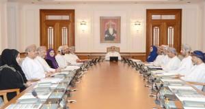 مكتب مجلس الدولة يناقش مشروعي (الميزانية العامة للدولة للسنة المالية 2016م) و(خطة التنمية الخمسية التاسعة)