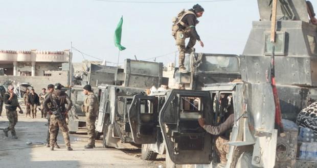 العراق : تقدم للقوات بمعركة تحرير الرمادي و(داعش) يختبئ وراء مفخخاته