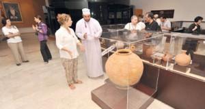 """""""متحف أرض اللبان"""" بظفار أهم الشواهد الحضارية والنماذج المميزة للمتاحف الموجودة في المتنزهات الأثرية"""