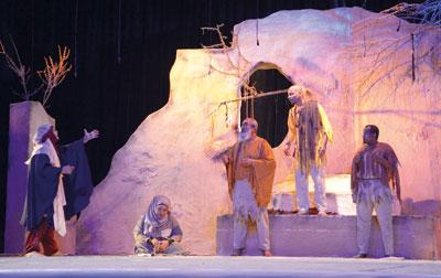"""المهرجان الخليجي المسرحي لذوي الإعاقة يطلق فعاليات دورته الرابعة بـ""""المزار"""""""
