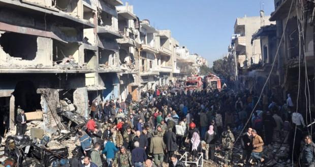 سوريا: (مفخخة) تقتل 16 بحمص ودمشق تنتقد (الصمت المشجع للإرهاب)