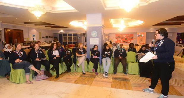 أعمال المنتدى العالمي للمرشدات وفتيات الكشافة يناقش عددا من التجارب للوصول الى تعلم مزدهر