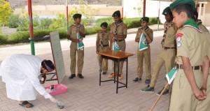 تعليمية الداخلية : الحصول على كأس جلالته للتفوق الكشفي نتيجة لعمل دؤوب بروح الفريق الواحد
