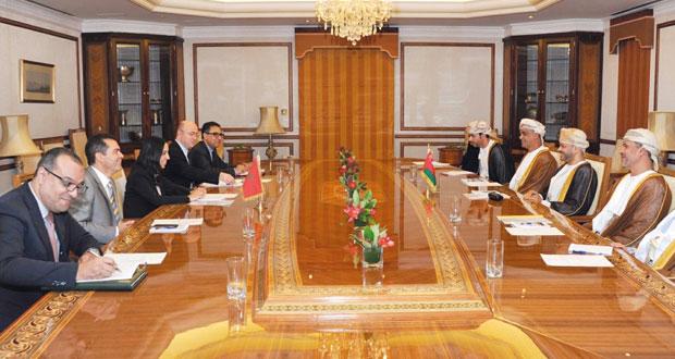 جلسة مشاورات سياسية بين السلطنة والمغرب