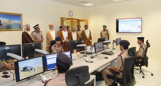 شرطة عمان السلطانية تحتفل بافتتاح مجمع وحدة شرطة المهام الخاصة بولاية الرستاق وتخريج فصائل من الشرطة المستجدين