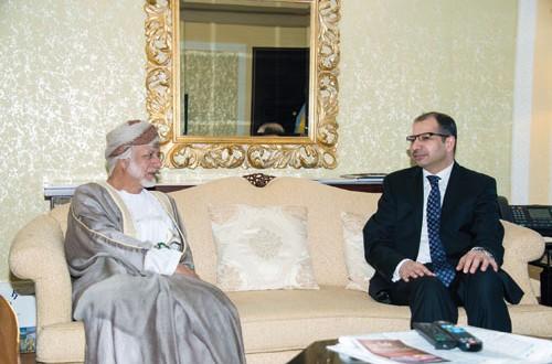 الوزير المسؤول عن الشؤون الخارجية يلتقي رئيس مجلس النواب العراقي