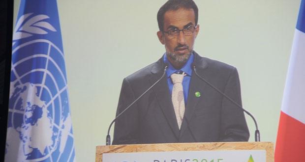 وزير البيئة والشؤون المناخية : السلطنة تعمل حالياً على إعداد استراتيجية وطنية للتكيف والتخفيف من تأثيرات التغيرات المناخية