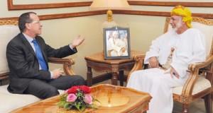 الوزير المسؤول عن الشؤون الخارجية يستقبل مبعوث الأمين العام للأمم المتحدة الى ليبيا