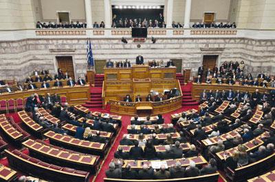 البرلمان اليوناني يصوت بالإجماع لصالح الاعتراف بـ(دولة فلسطين)