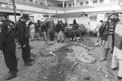 باكستان: 92 بين قتيل وجريح في هجوم (طالباني)