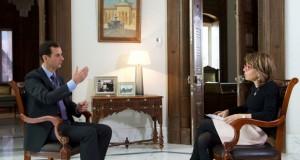 الأسد يؤكد أن التدخل الروسي يحمي أوروبا وينتقد تصريحات بريطانيا حول (المعارضة المعتدلة)