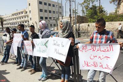 قضاء الاحتلال يواصل المراوغات بشأن قضية استشهاد محمد أبو خضير
