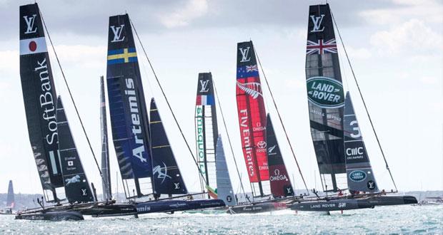 السلطنة تستضيف الجولة الافتتاحية لسلسلة سباقات كأس أميركا للإبحار الشراعي فبراير المقبل