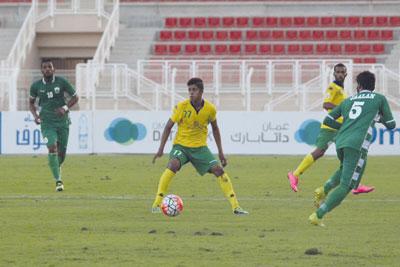 فـي كأس جلالته لكرة القدم: العروبة يؤكد تفوقه .. فاز على صور فـي الدربي الكبير 2/1