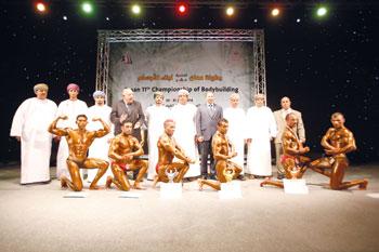 إقامة بطولة عُمان الثالثة عشرة لبناء الأجسام في بداية شهر أبريل 2016