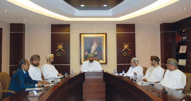 اجتماع لجنة فض المنازعات والتحكيم الرياضي