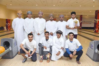 بنك مسقط يشارك في دعم وإنجاح بطولة جامعة السلطان قابوس للبولينج