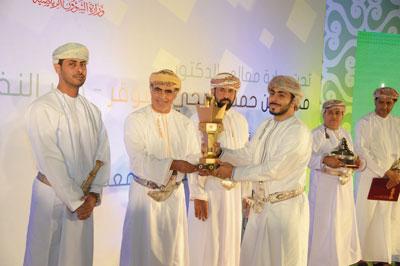 شهاب بن طارق : نثمن غاليا إنجاز فوز نادي السيب وللمرة التاسعة بكأس جلالته للشباب