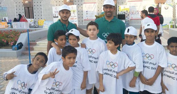 اليوم .. انطلاقة فعاليات اليوم الأولمبي في ست محافظات بالسلطنة