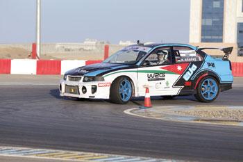 عرفات أولا والبلوشي وصيفا في منافسات الجولة الثالثة لبطولة عمان لسباقات السرعة