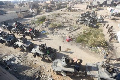 العراق يتسلم الرمادي بدمار 80 % ويتطلع لمساعدة كردية لتحرير الموصل