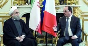 الرئيس الإيراني يأمل ببدء (علاقة جديدة) مع فرنسا