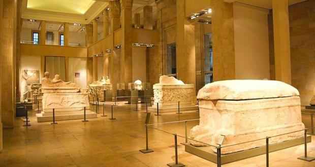 المتحف الوطني اللبناني تفوح منه رائحة التاريخ
