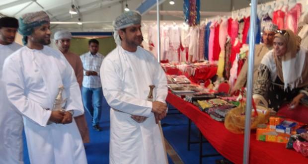 افتتاح معرض عروس صحار الثالث