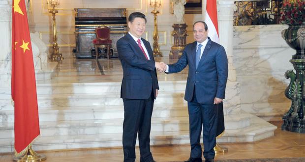 قمة مصرية صينية بالقاهرة تشدد على مكافحة الإرهاب .. وتوقيع 21 اتفاقية تعاون