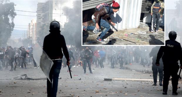 تونس: حظر تجوال ليلي بعد اتساع نطاق الاحتجاجات