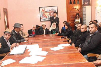 مؤتمر إقليمي لنقابة المسرحيين المغاربة