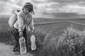 """""""فتاة الماء"""" لهيثم الفارسي تحصد الذهبية في مسابقة صوفيا الدولية للتصوير الضوئي"""