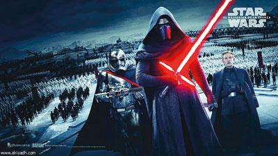 أحدث إصدارات سلسلة أفلام «ستار وورز» تعرض فـي الصين ونفاد التذاكر