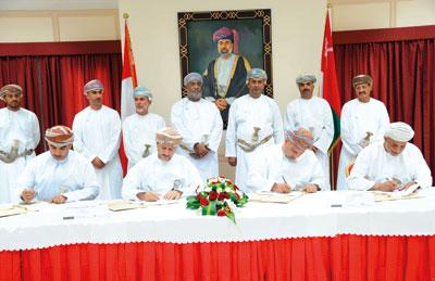 التوقيع على تأسيس شركة تنمية معادن عمان برأس مال 100 مليون ريال عماني