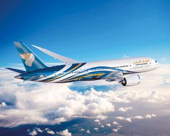 الطيران العماني يكشف النقاب عن خطوط جديدة للصين والهند وإيران وزيادة رحلاته لعدد من الدول العربية و العالمية أهمها لندن وباريس