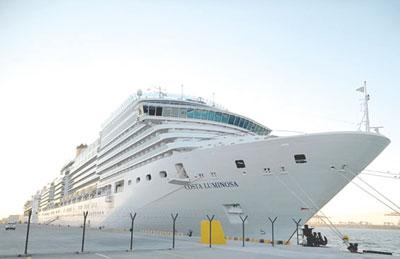 ميناء صلالة يستقبل 35 سفينة سياحية في 2015