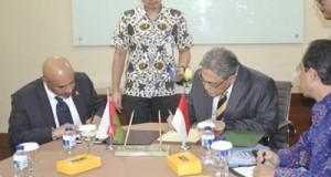 مذكرة تفاهم حول المشاورات السياسية بين السلطنة وأندونيسيا