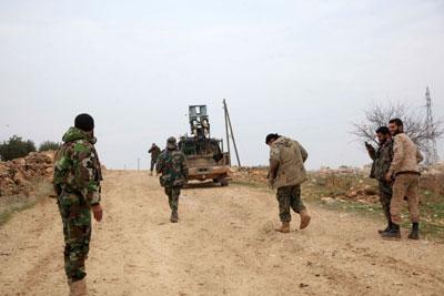 عبر فتح عدة جبهات..الجيش السوري يعزز مواقعه في أرياف حلب واللاذقية ودرعا