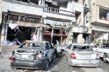 سوريا: 29 قتيلا بتفجيرين إرهابيين في حمص والجيش يسيطر على كامل الشيخ مسكين