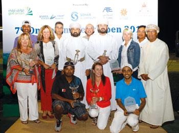 البحريني سلطان عبدالله يتوج ببطولة عمان للجولف في نسختها السابعة