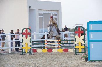 ختام ناجح لمسابقة الجائزة الكبرى الثانية لقفز الحواجز بالرحبة
